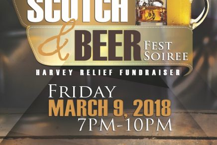 Houston Whiskey Events Prepares for Its Annual Scotch & Beer Fest Soiree