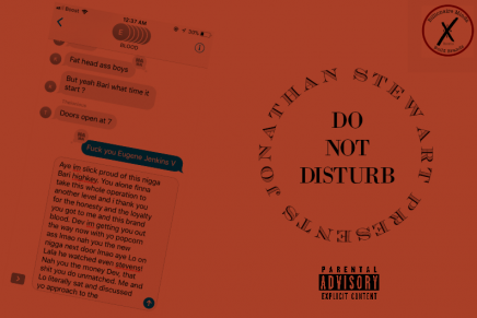 """Jonathan Stewart Goes In Over Drake's """"Do Not Disturb"""""""