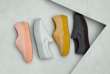 Vans Classics Adds Suede To Outsole Pack