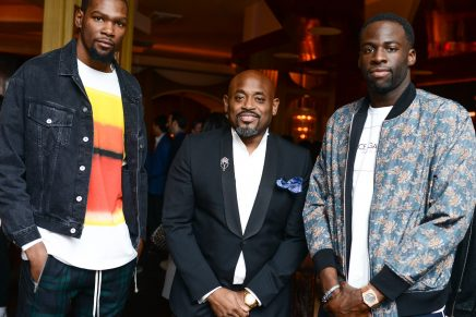 J. Cole, Kevin Durant, Steve Stoute Spotted At The Mixer During All-Star Weekend