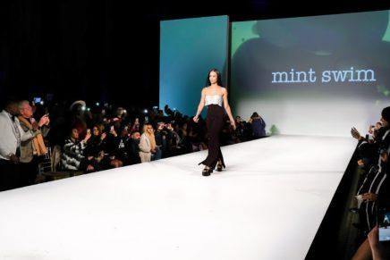 La La & Fabolous Sit Front Row At Draya Michele's Mint Swim During New York Fashion Week