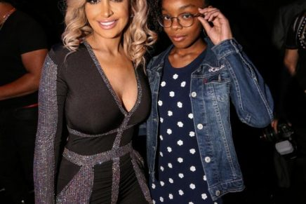 Angel Brinks Hosts Couture Against Cancer Event During All-Star Weekend