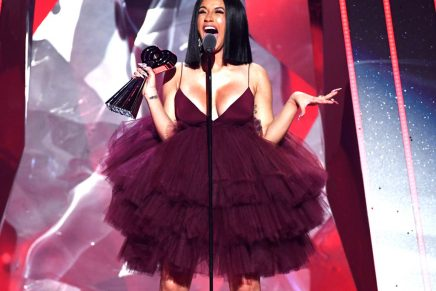 Cardi B Wins Best New Artist at 2018 iHeartRadio Awards and Announces Album Is Dropping in April