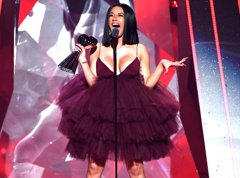 Cardi B Actually Heartbroken Despite Putting On Brave: Cardi B Wins Best New Artist At 2018 IHeartRadio Awards