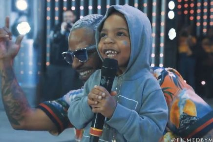 Eric Bellinger Celebrated the Release of 'Eazy Call' With a Performance at Universal CityWalk