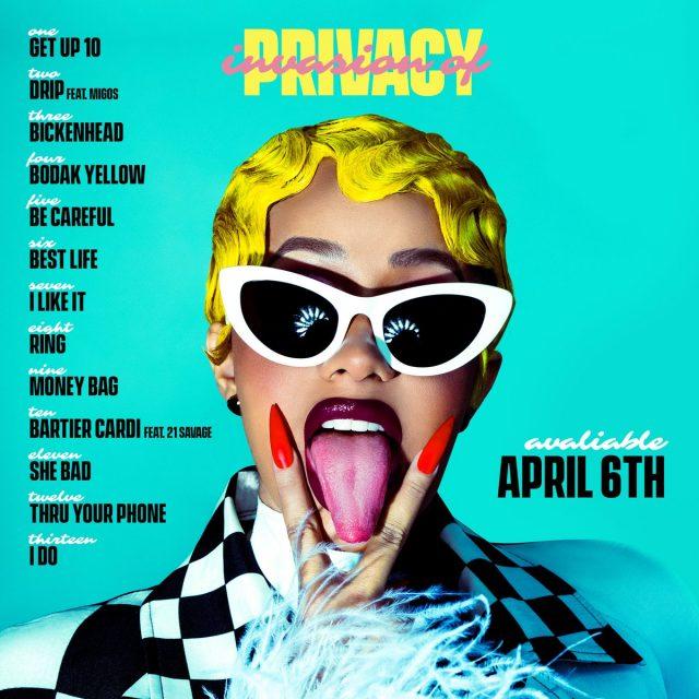 Cardi B 'Invasion Of Privacy'