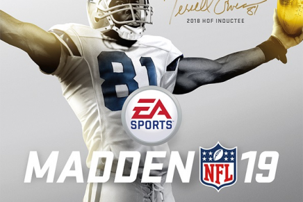 Terrell Owens Returns to Football on Cover of Madden NFL 19 Hall of Fame Edition