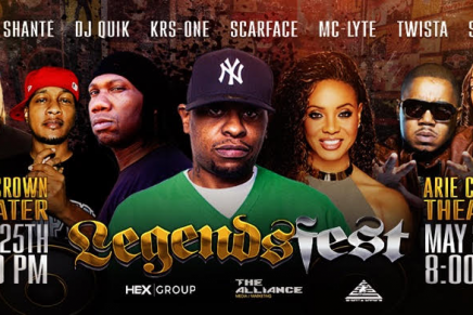 Scarface, KRS-One, MC Lyte and More are Headed to Chicago for the 2018 Legends Fest: Hip Hop Edition
