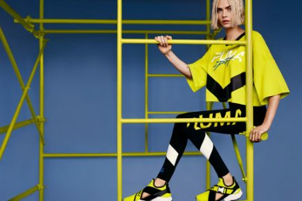 PUMA Makes a Splash With The Muse Cut-Out Worn by Cara Delevingne