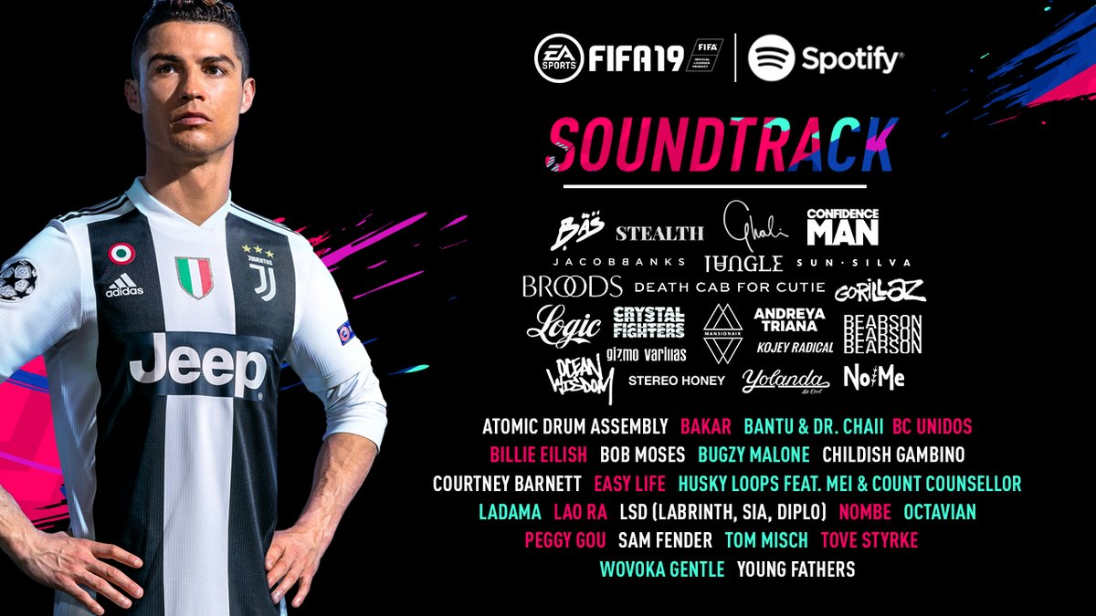 The FIFA 19 Soundtrack Features Sounds From Childish Gambino