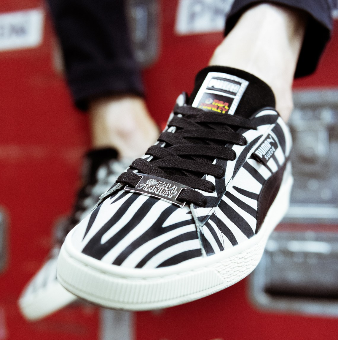 half off 30895 dc087 Paul Stanley x Puma Collaborate For Suede 50th Anniversary ...