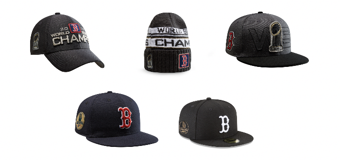 super popular a59c2 73431 New Era Celebrates Boston Red Sox With 2018 World Series ...