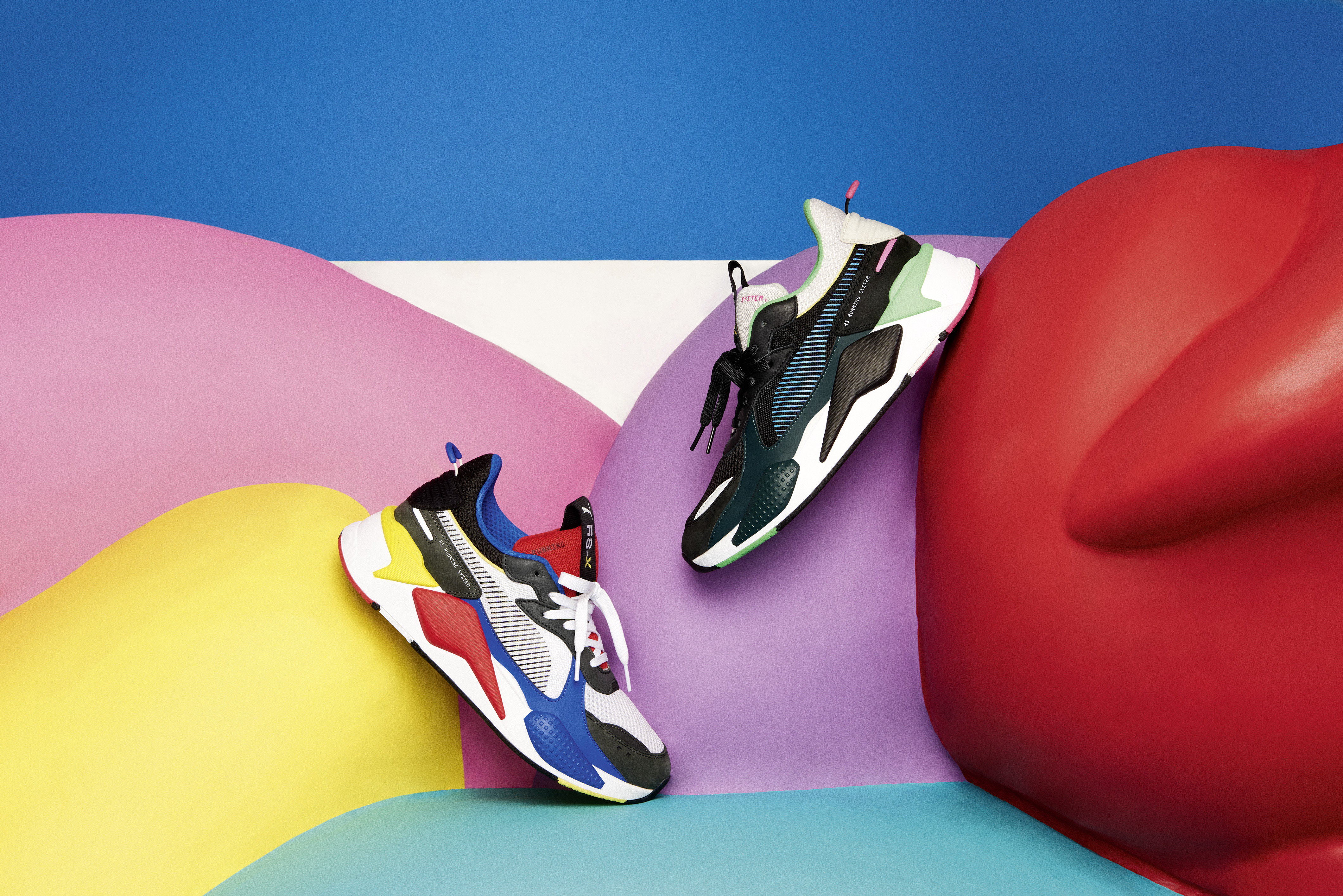 PUMA Launches RS X Toys Sneaker   RESPECT.