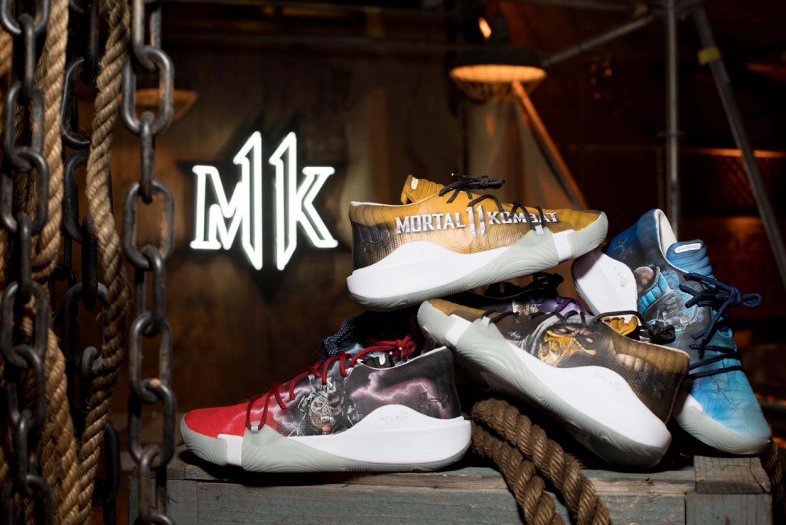 Decoración tristeza reserva  Under Armour and Mortal Kombat Deliver a Footwear Fatality c/o Mache  Customs | RESPECT.
