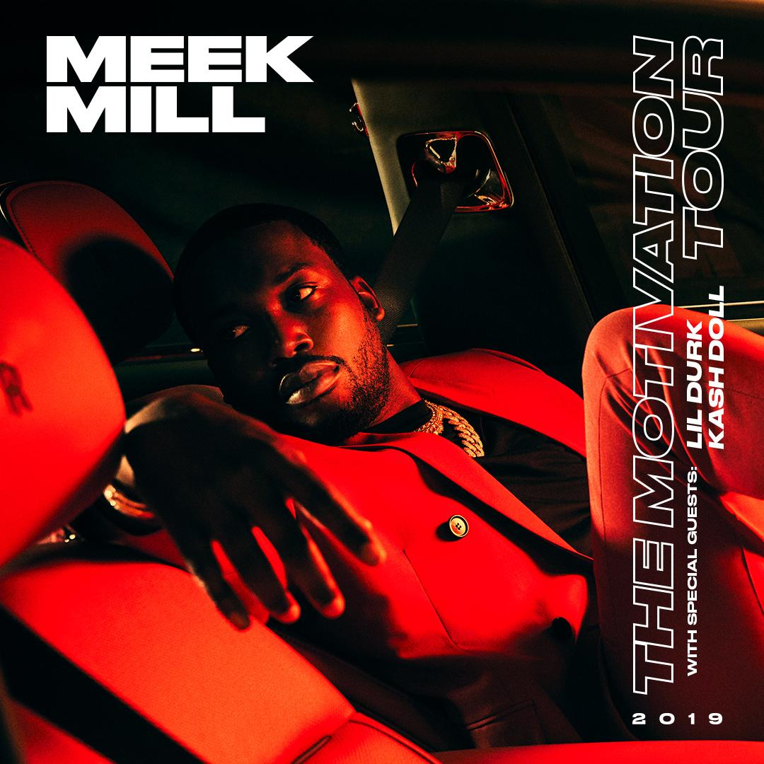 Meek Mill Adds Lil Durk & Kash Doll to his 'Motivation' Tour
