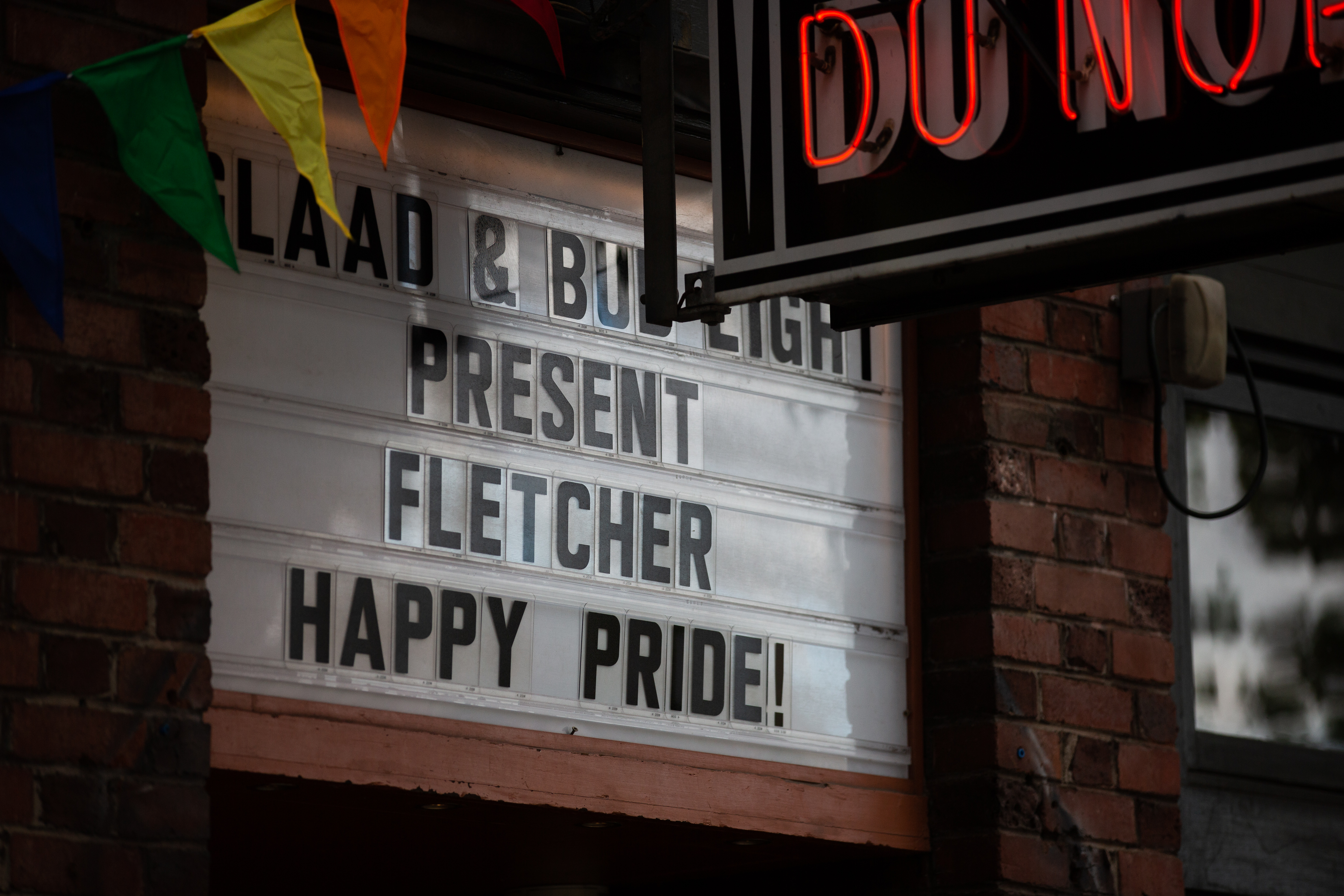 FLETCHER Headlined the Bud Light Dive Bar Tour Presented by GLAAD in