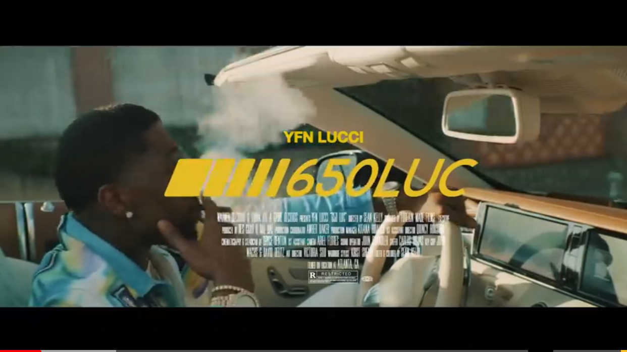 "YFN Lucci Drops a New Visual for ""650 Luc"" 