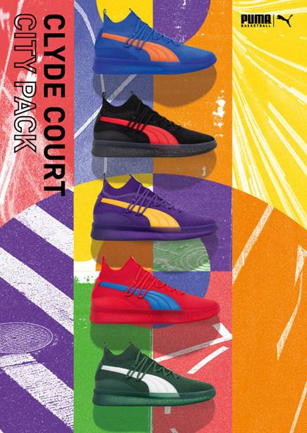 PUMA Introduces Clyde Court City Pack