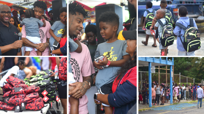 21 savage hosts fourth annual issa back 2 school drive for over 2 300 kids in atlanta respect 21 savage hosts fourth annual issa