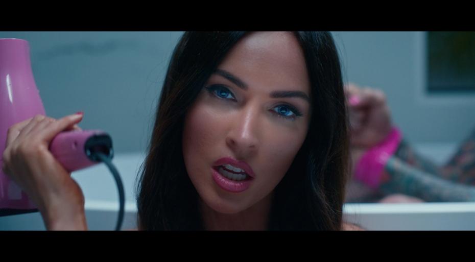 Megan Fox appears in Machine Gun Kelly's latest music video
