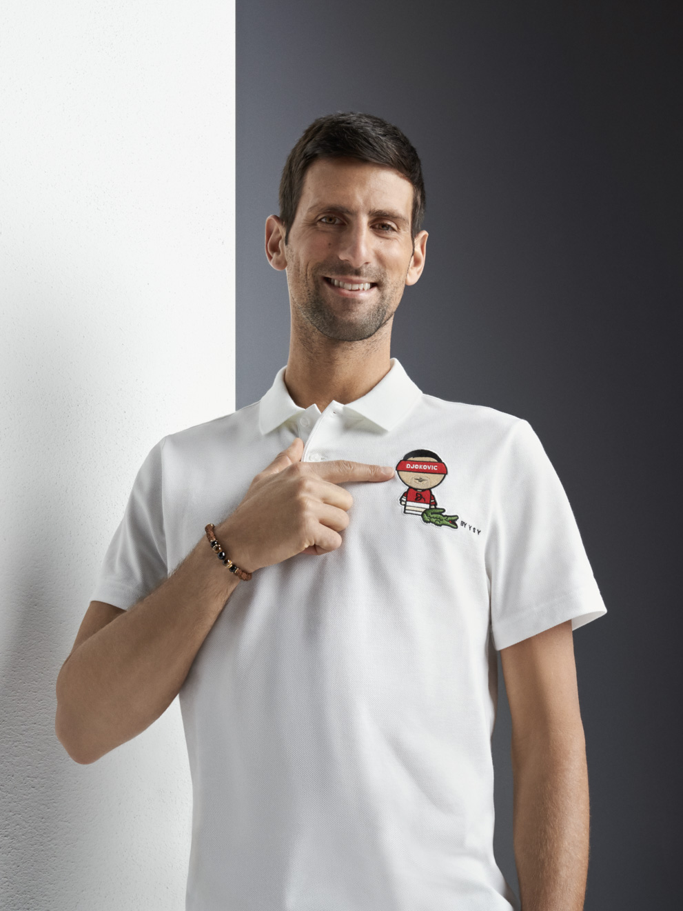 Lacoste Launches Capsule Collection With Artist Ysy Inspired By Djokovic Respect